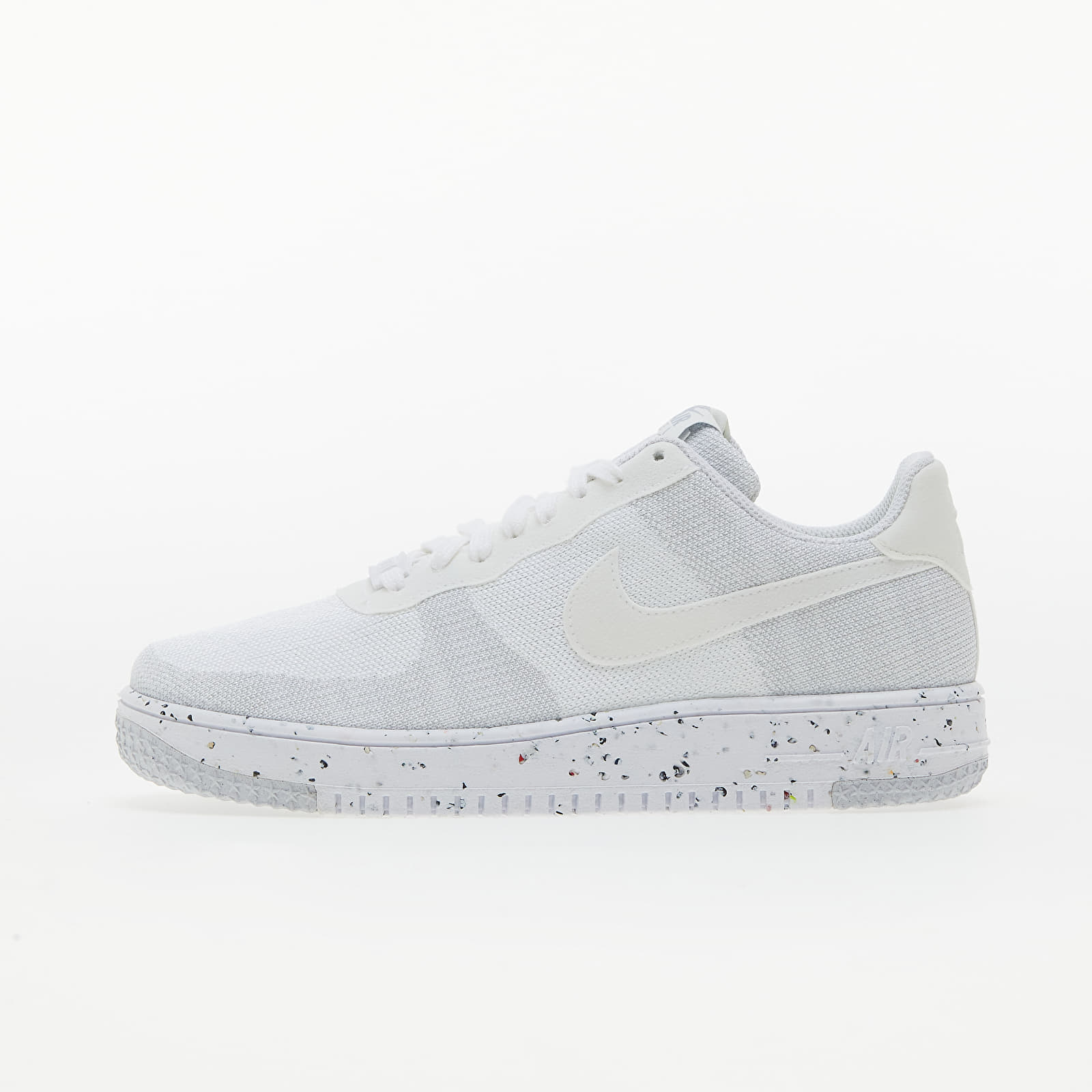 Nike Air Force 1 Crater FlyKnit White/ White-Sail-Wolf Grey EUR 43