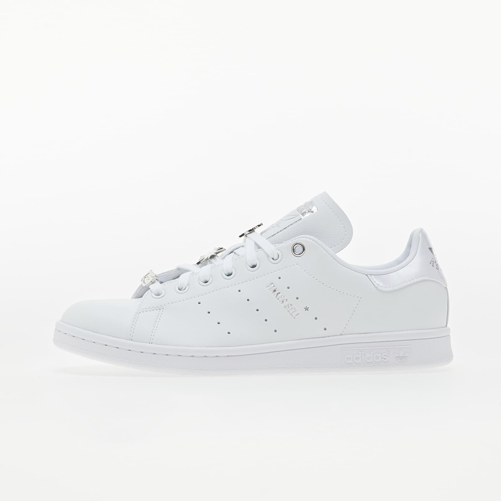 adidas Stan Smith Ftw White/ Silver Metallic/ Scarlet EUR 41 1/3