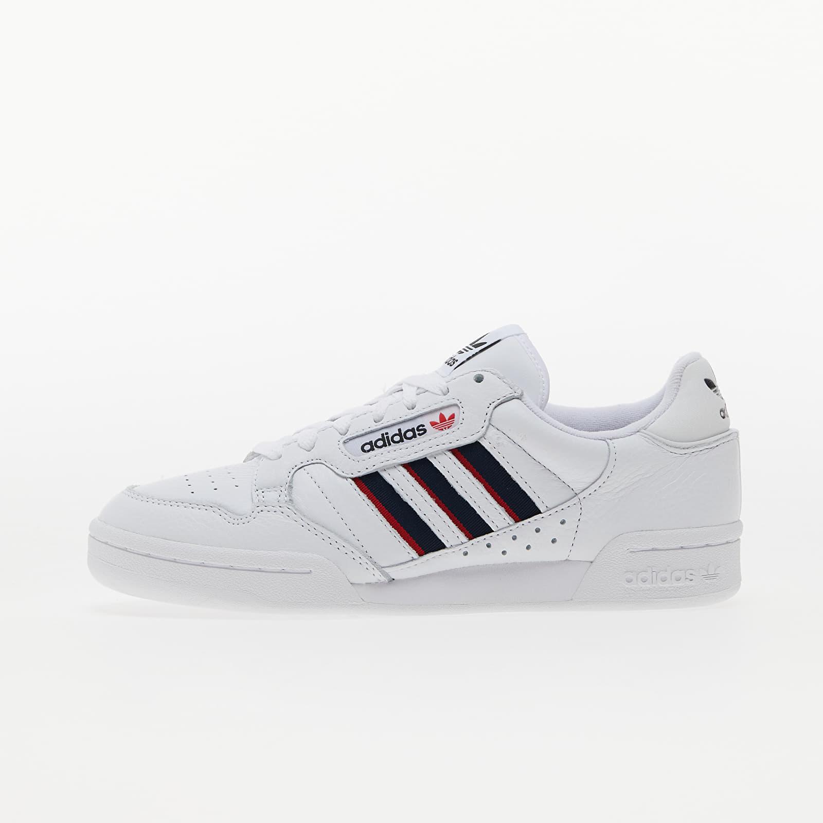 adidas Continental 80 Stripe Ftw White/ Collegiate Navy/ Vivid Red EUR 46