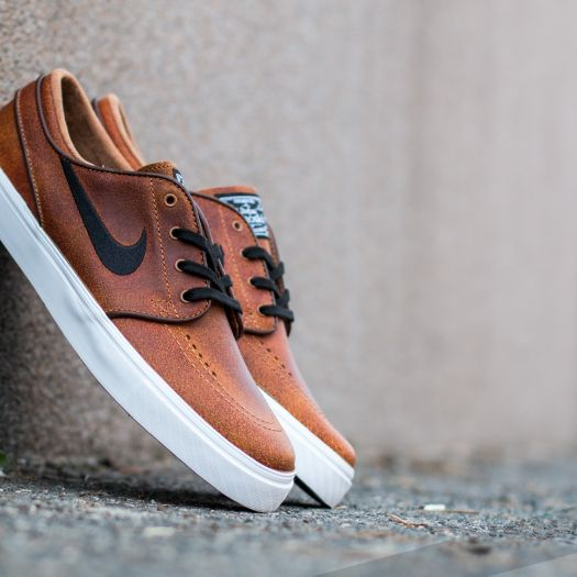 timeless design 7561c 31b44 Nike Zoom Stefan Janoski Elite Ale Brown/ Black-White-Dark ...
