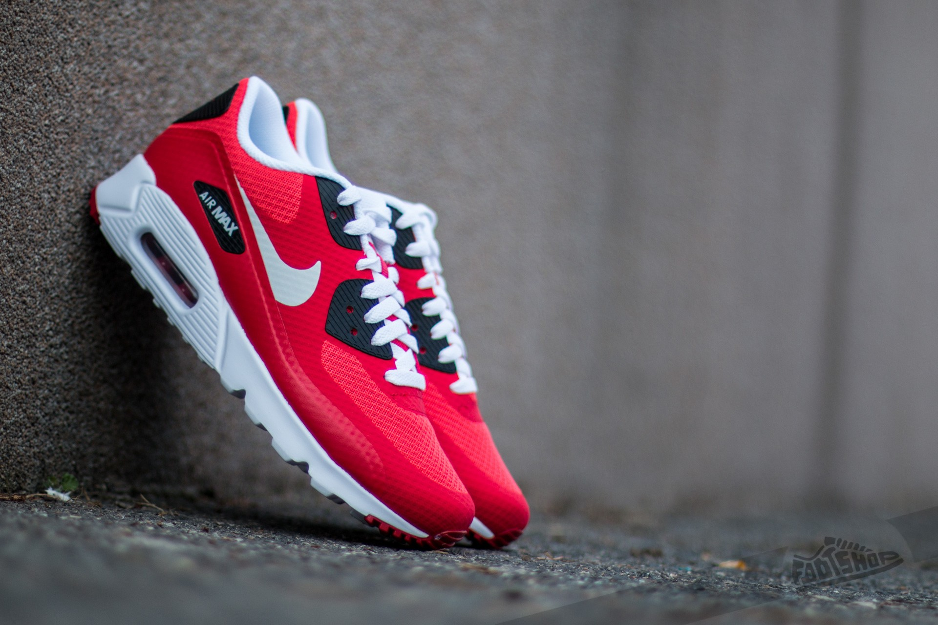 best loved 7d955 07004 Nike Air Max 90 Ultra Essential Action Red Pure Platinum-Gym Red-Black