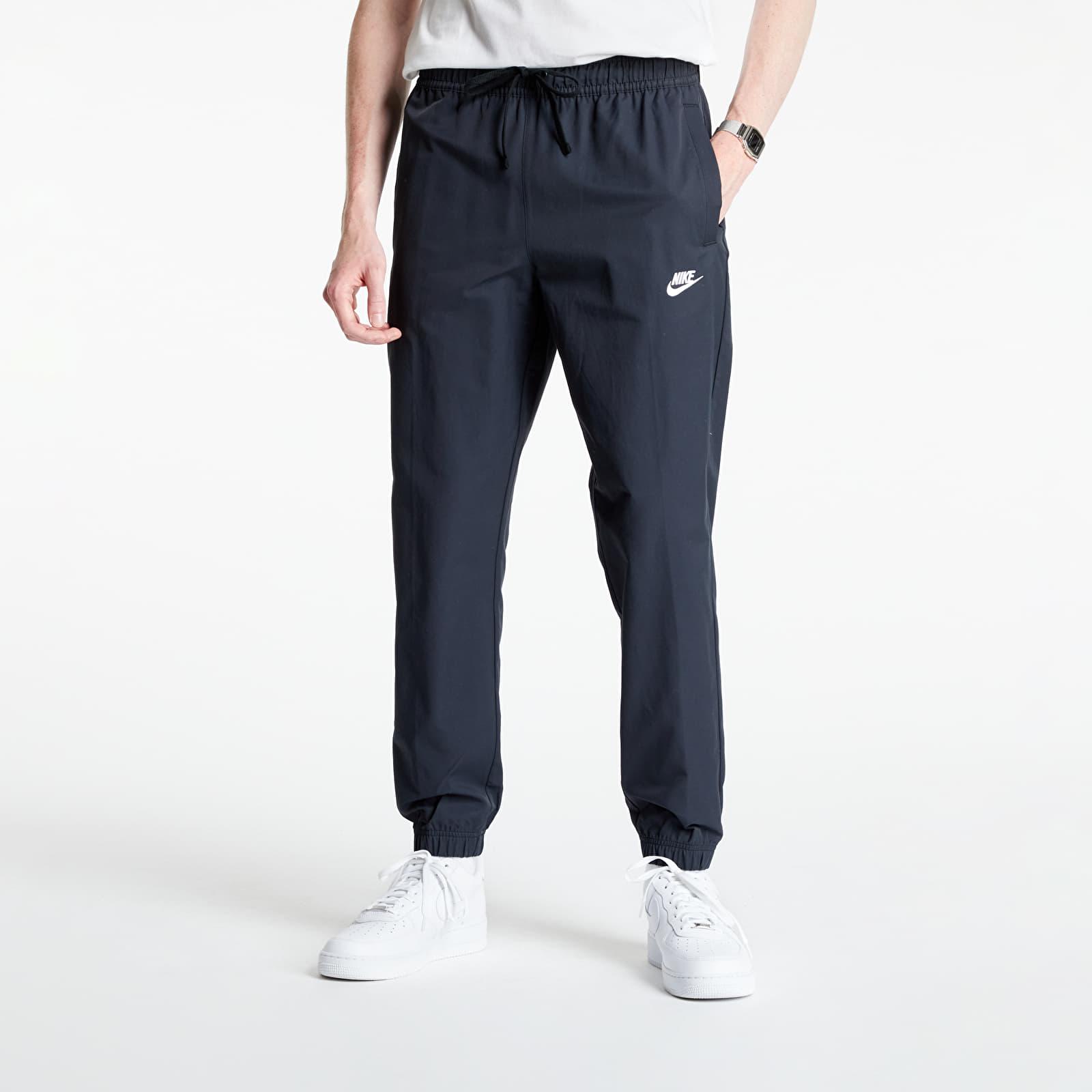 Nike Sportswear Men's Unlined Cuff Pants Black/ White