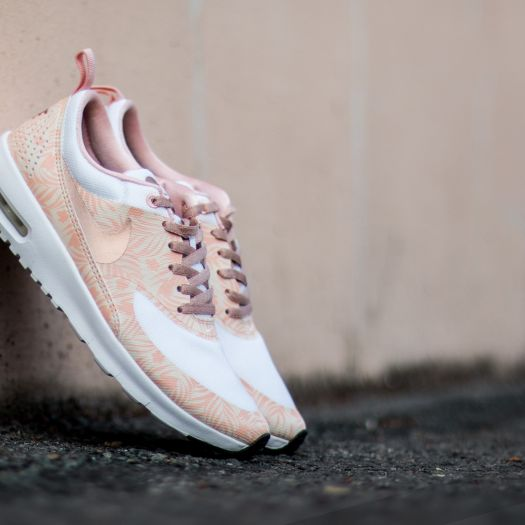 Nike Air Max Thea Print (GS) White Metallic Red Bronze Pearl White Arctic | Footshop