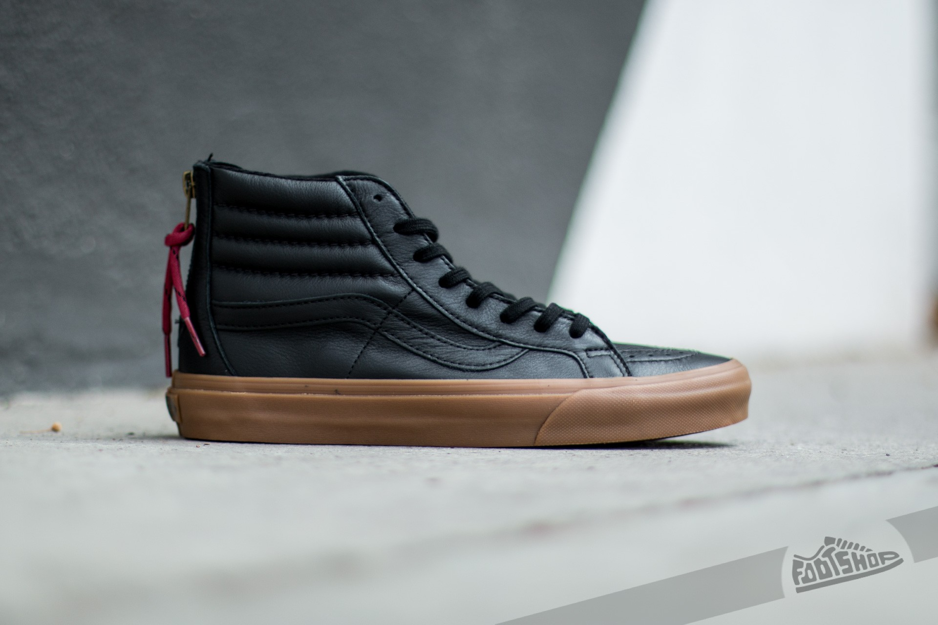 Vans Sk8-Hi Reissue Zip (Hiking) Black/ Gum | Footshop