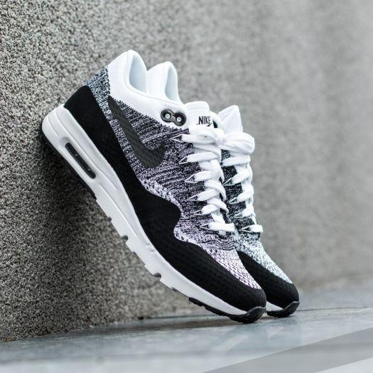 Nike W Air Max 1 Ultra Flyknit White Black Black   Footshop