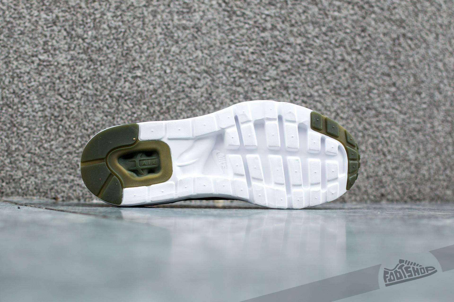 Nike Air Max 1 Ultra Flyknit Olive Flak Cargo Khaki Cargo Khaki White | Footshop