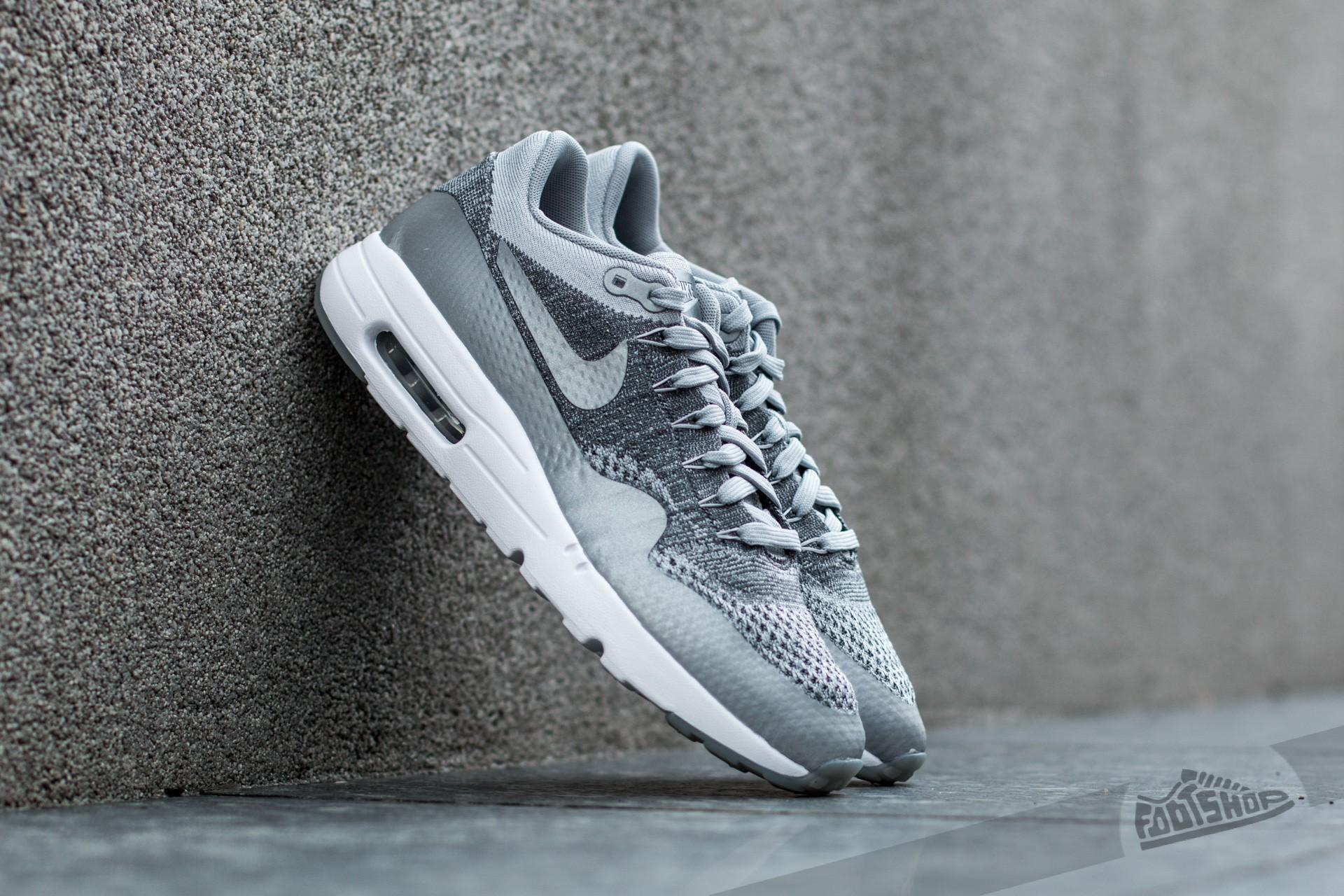 Nike Air Max 1 Ultra Flyknit Wolf Grey Wolf Grey Dark Grey