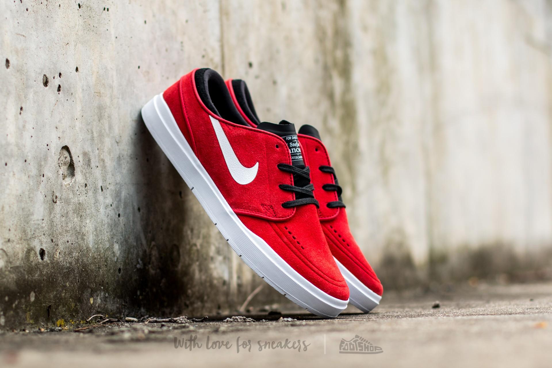 f975e838a34d Nike Stefan Janoski Hyperfeel University Red  White-Black-Total Crimson