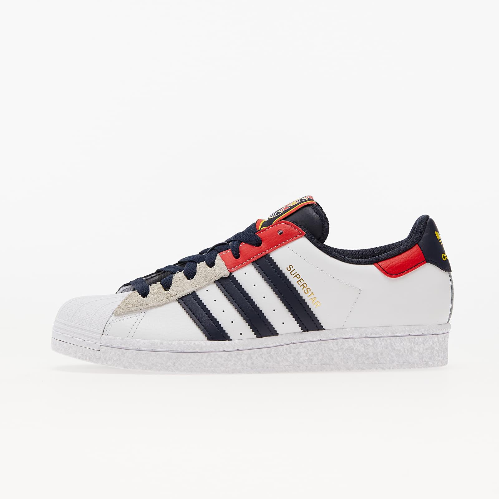 adidas Superstar Ftw White/ Legend Ink/ Red EUR 36