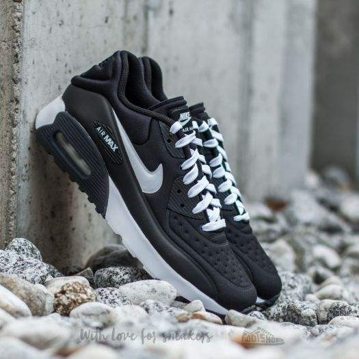 Nike Air Max 90 Ultra SE (GS) Black  White  da9ff0cbc