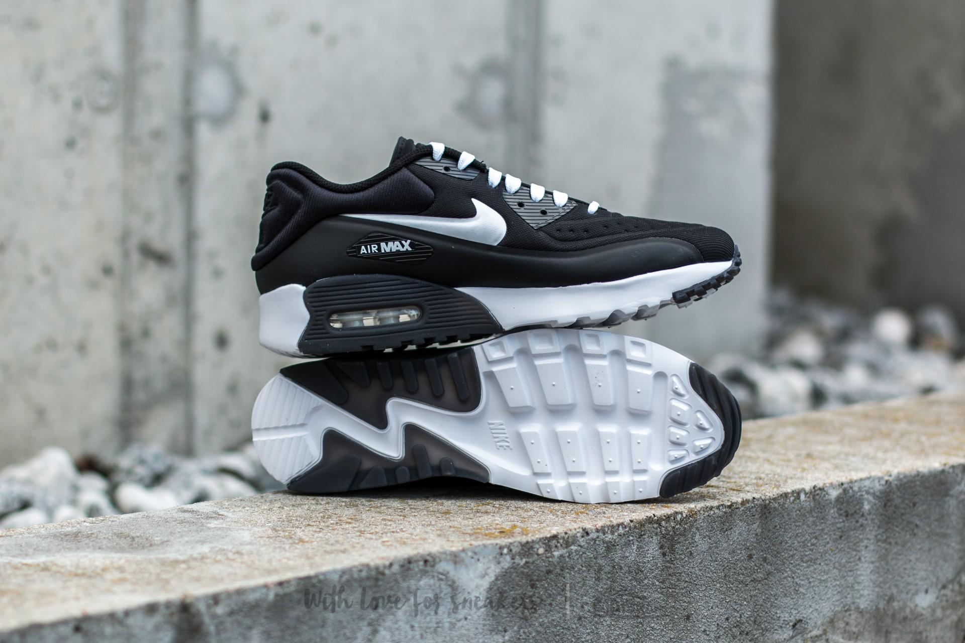 Nike Air Max 90 Ultra SE (GS) Black White   Footshop