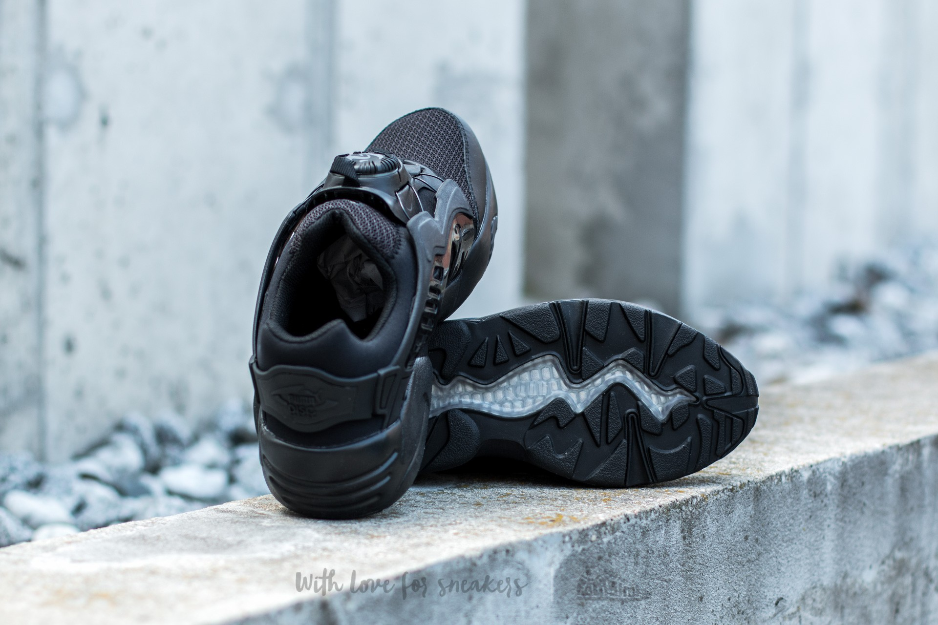 Sneakers PUMA Disc Blaze CT 362040 02 Black