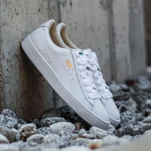 Puma Basket Classic LFS White-White | Footshop