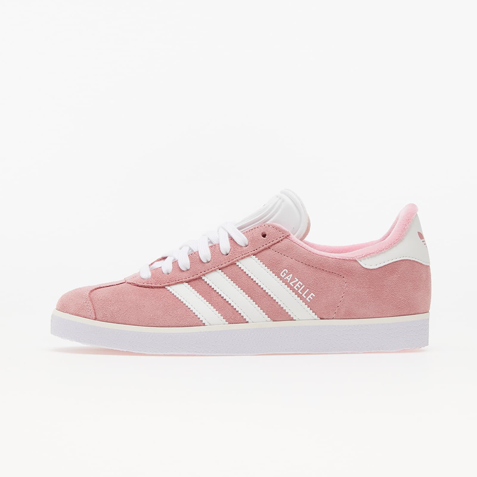adidas Gazelle W Light Pink/ Core White/ Silver Metallic EUR 36 2/3