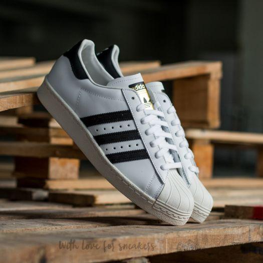 adidas Superstar 80s WhiteBlack1Chalk2