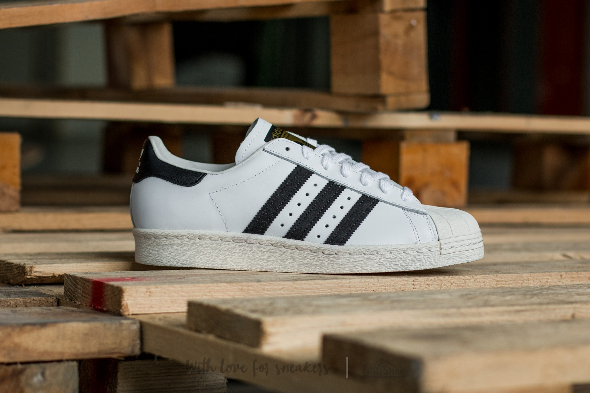 best service 98127 58c04 adidas Superstar 80s White Black1 Chalk2 at a great price £95 buy at