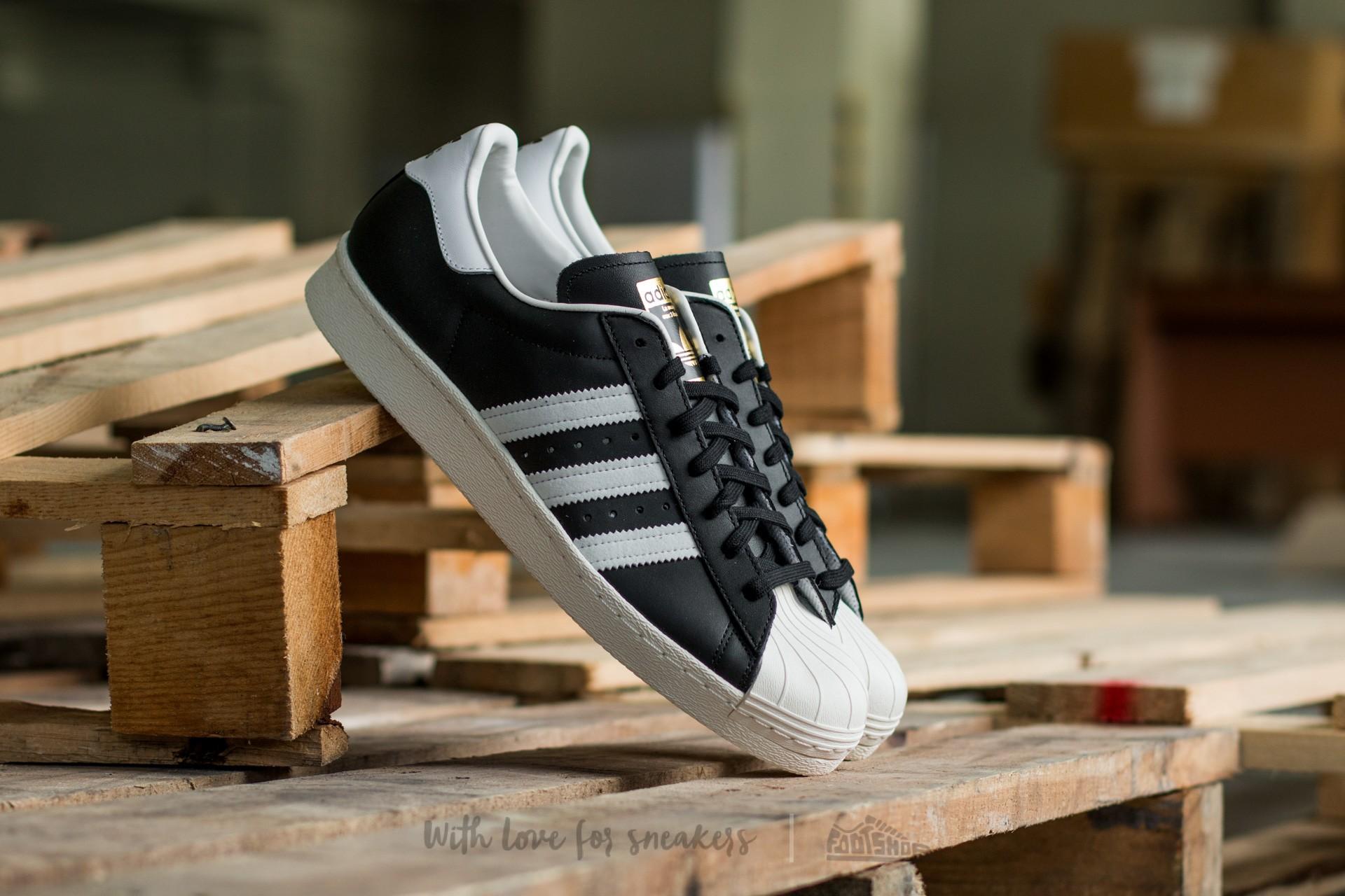 adidas Superstar 80s Black1/Wht/Chalk2 za skvělou cenu 2 990 Kč koupíte na Footshop.cz