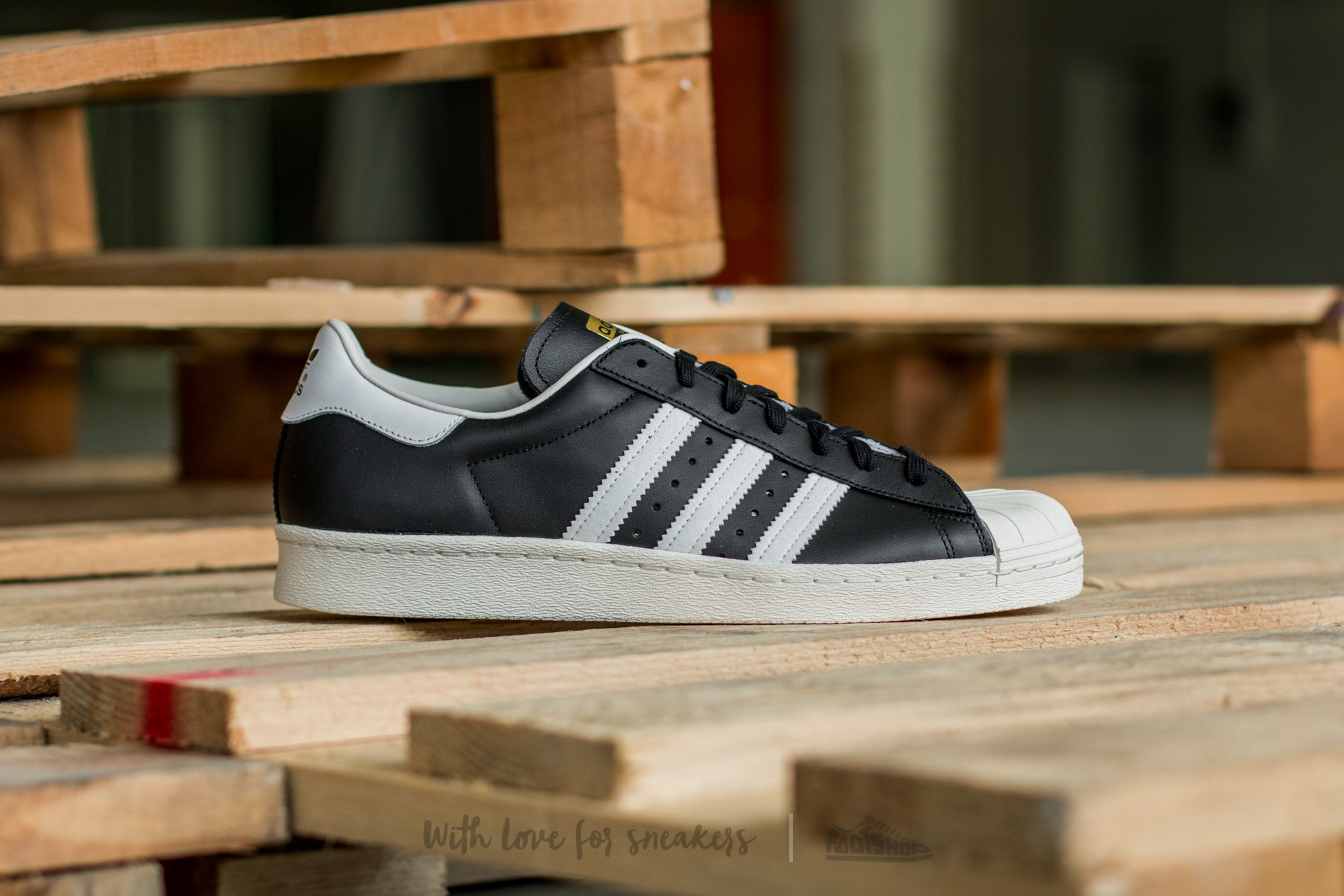 new arrival 36315 ba479 adidas Superstar 80s Black1 Wht Chalk2 at a great price 110 € buy at