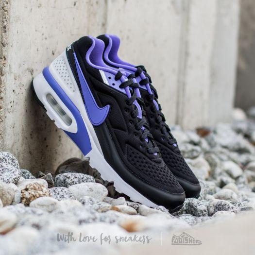 Nike Air Max BW Ultra SE Black Persian Violet White | Footshop