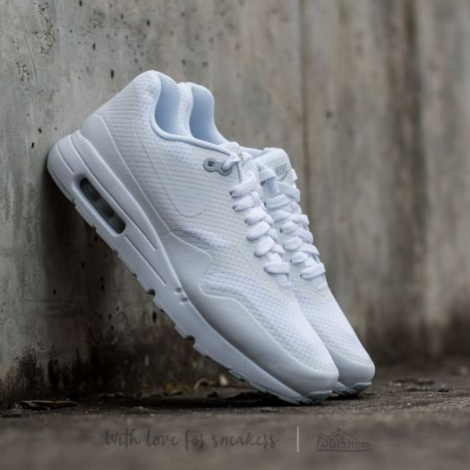 Nike Air Max 1 Ultra Essential White White Pure Platinum | Footshop