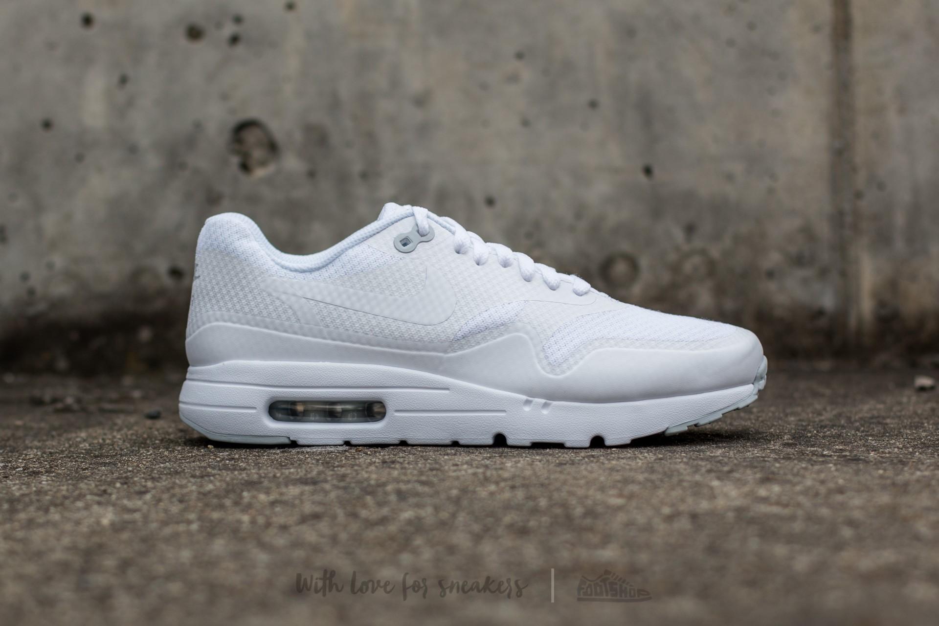 Nike Air Max 1 Ultra Essential White White Pure Platinum