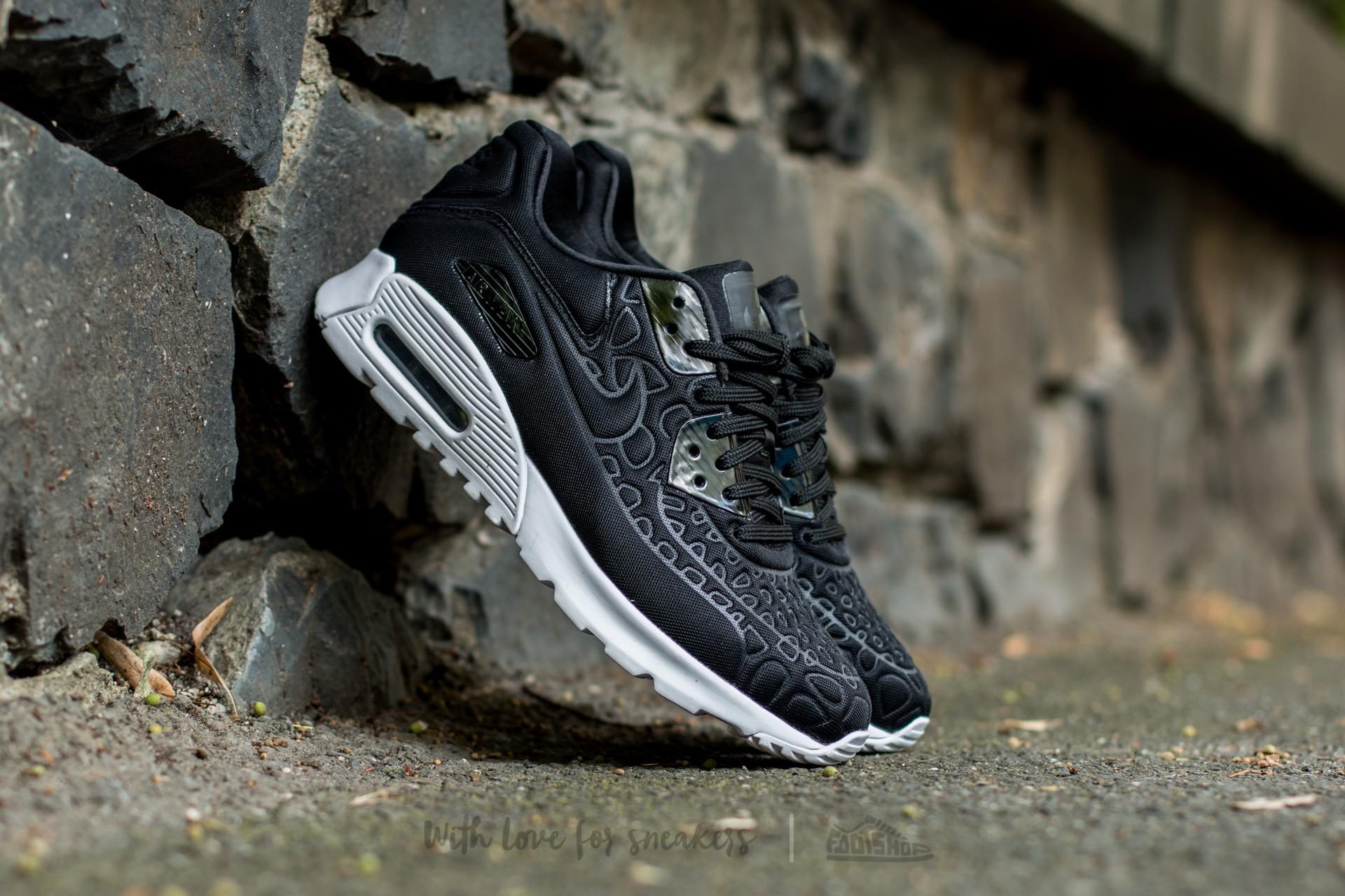 Nike Wmns Air Max 90 Ultra Plush Black/ Black-White   Footshop
