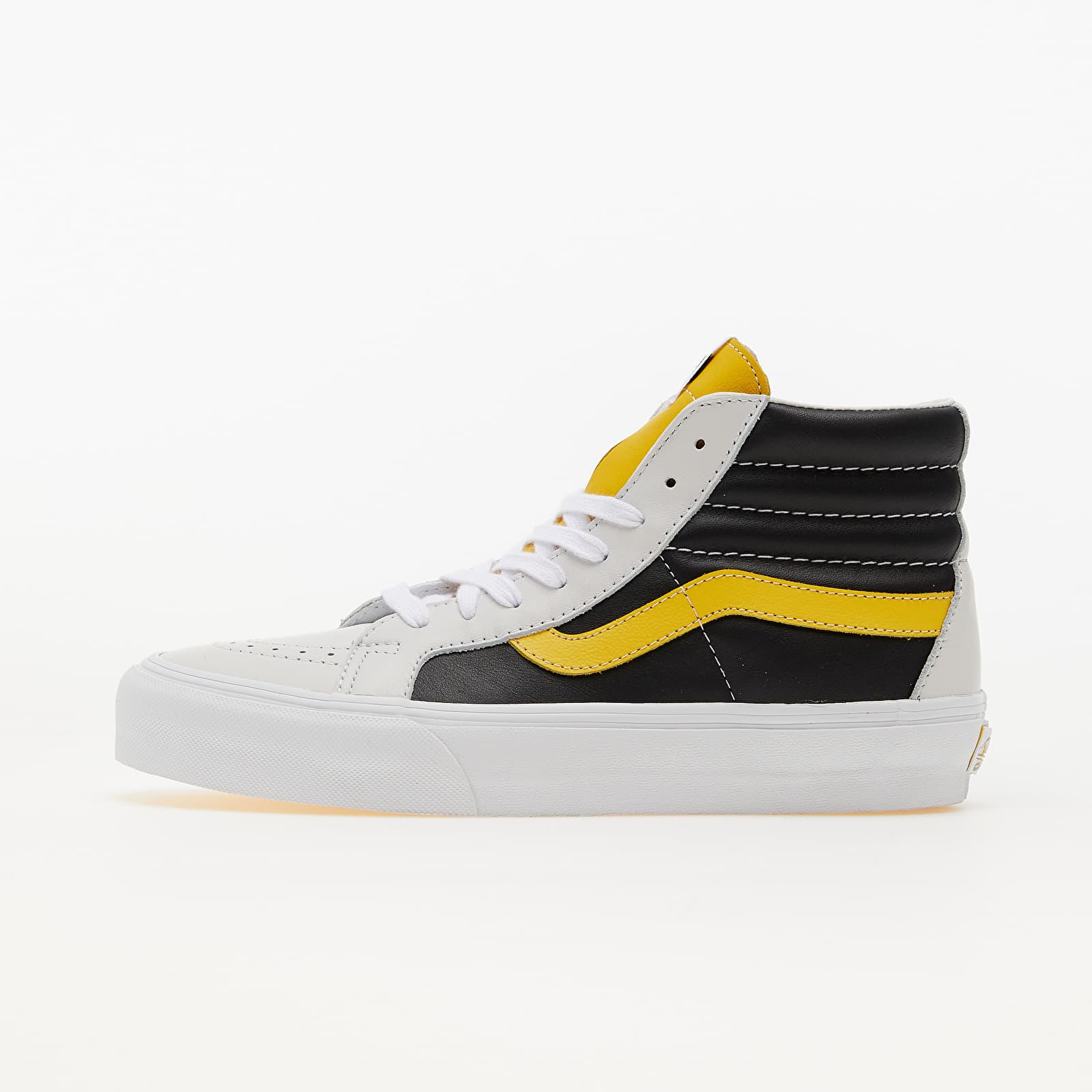 Vans Vault Sk8-Hi Reissue (Leather) White/ Black/ Freesia EUR 43