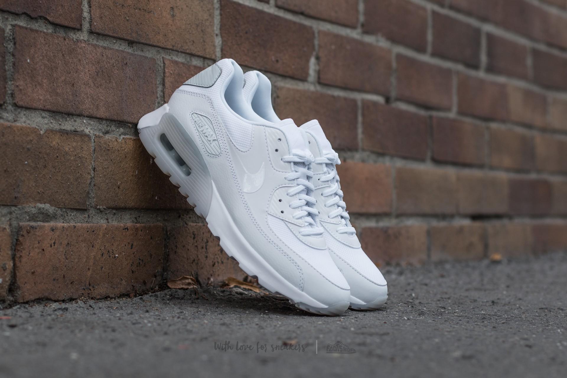 sports shoes d3e45 12ede Nike W Air Max 90 Ultra Essential White/ White-Pure Platinum ...