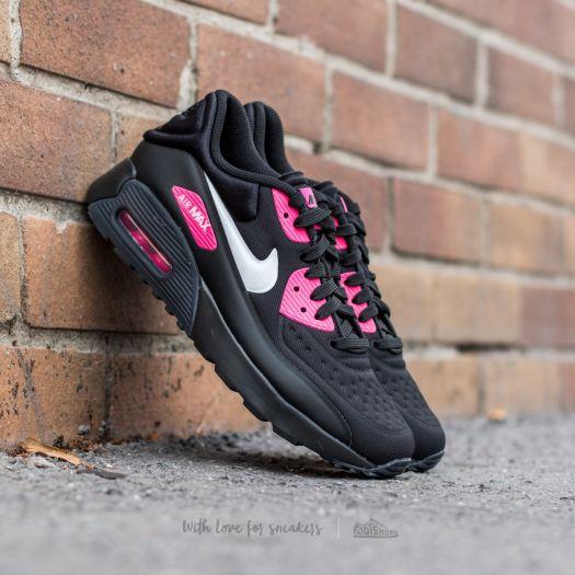 Nike Air Max 90 Ultra SE (GS) Black  White-Hyper Pink  9608f4f1b1f2