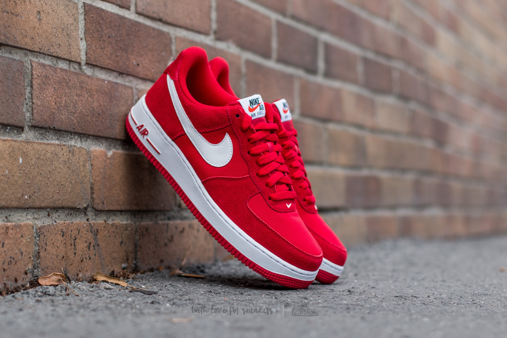 Nike Air Force 1 Game Red White | Footshop
