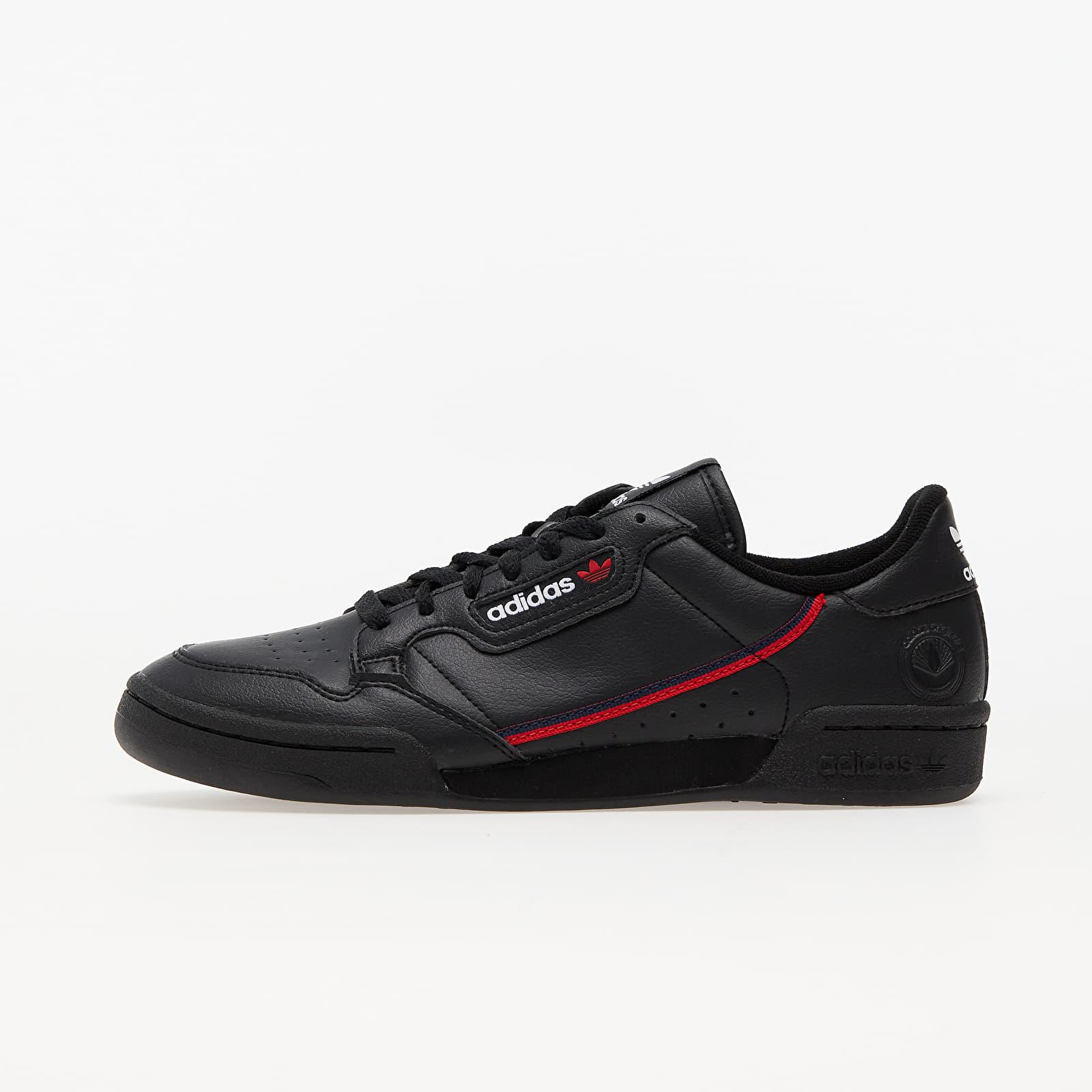 adidas Continental 80 Vegan Core Black/ Collegiate Navy/ Scarlet EUR 46