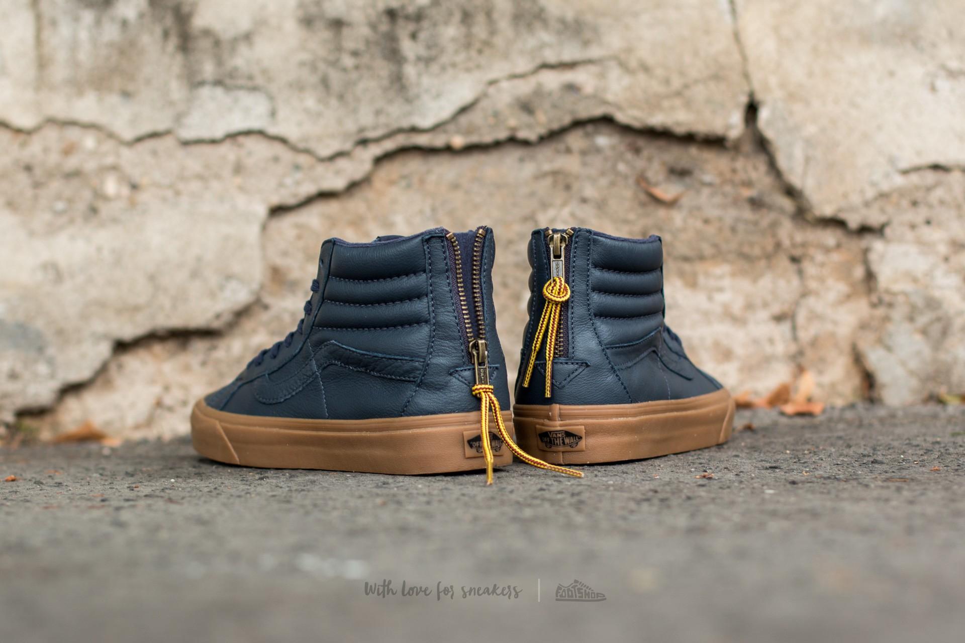 Vans Sk8 Hi Reissue Zip (Hiking) Navy Gum | Footshop