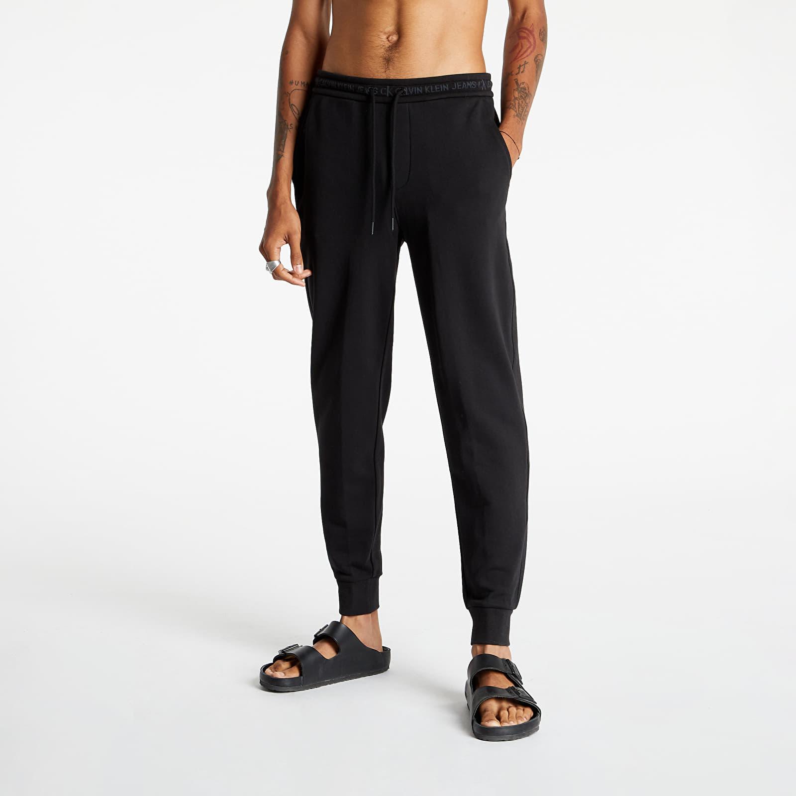Calvin Klein Jeans Logo Jacquard Hwk Pants Ck Black