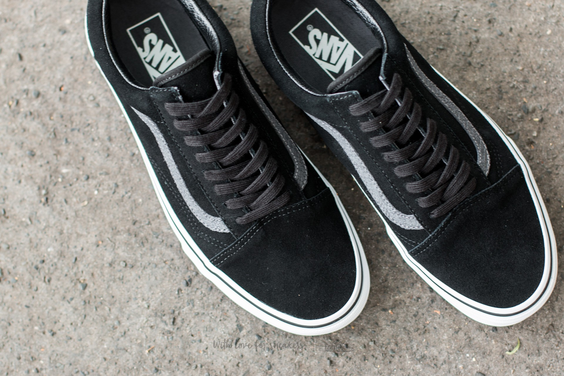 Vans Old Skool (Reptile) Black Tornado | Footshop