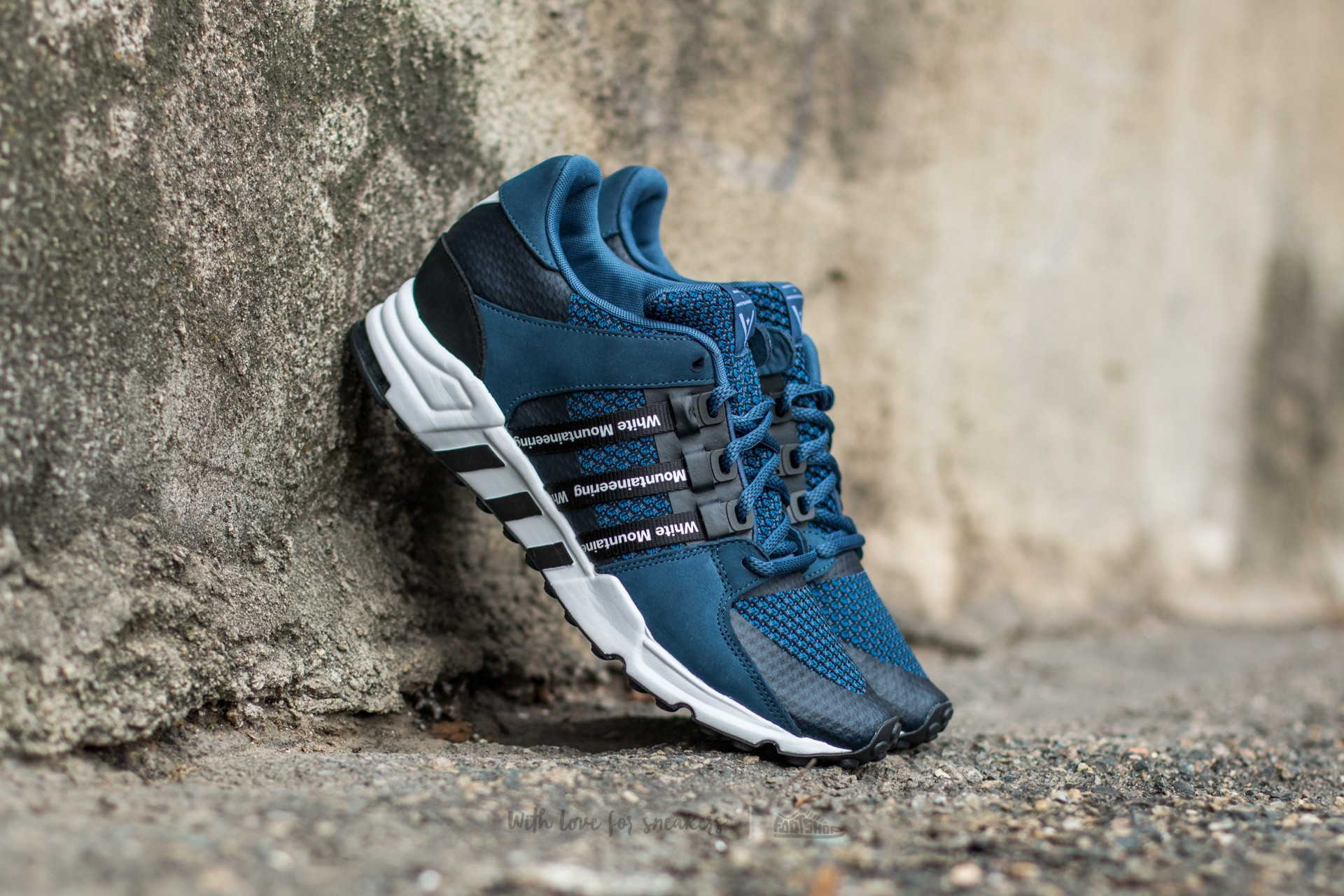 the best attitude 37a33 fa33e adidas White Mountaineering Equipment Running Night Indigo DMarin Conavy