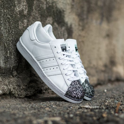 adidas Superstar 80s Metal Toe TF Ftw White/