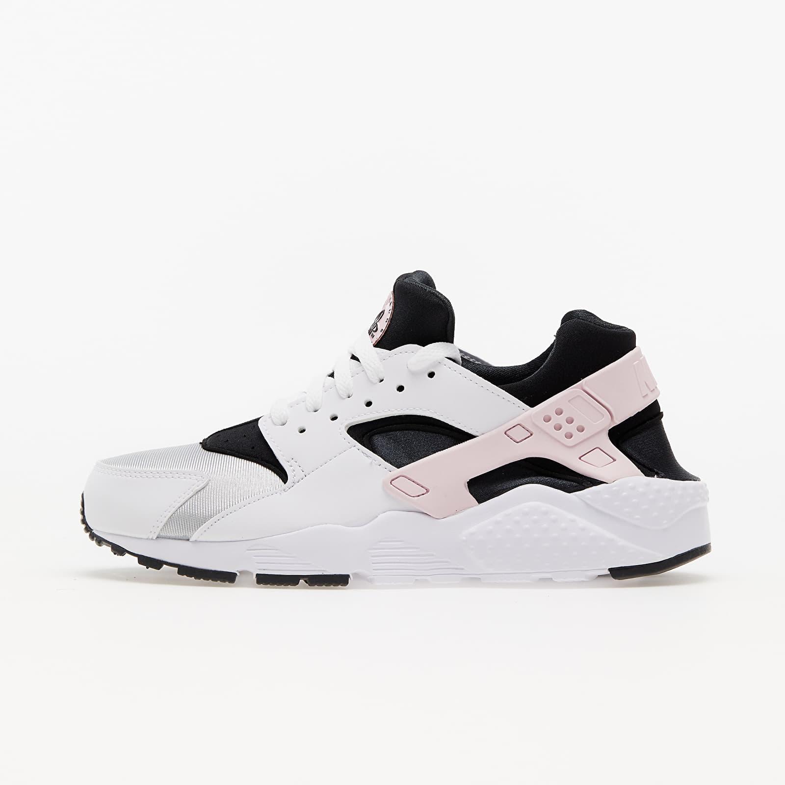 Nike Huarache Run (GS) White/ Pink Foam -Grey Fog-Off Noir EUR 38.5