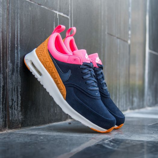 save up to 80% sneakers closer at Nike W Air Max Thea Premium Leather Obsidian/ Obsidian ...