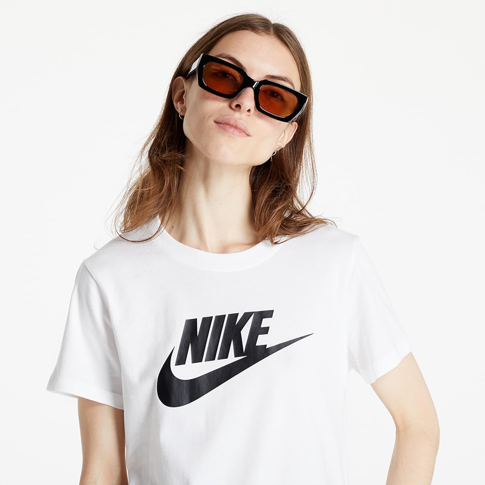 Nike Sportswear Essential Icon Future Tee White/ Black S