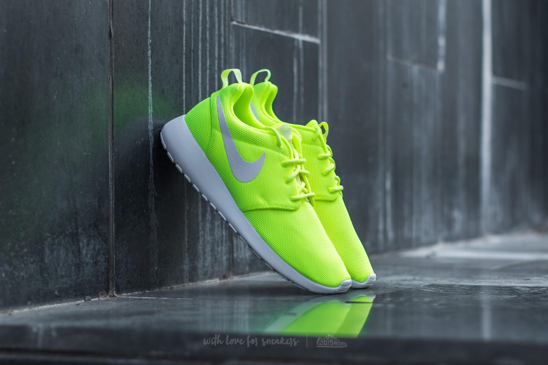 new product c516b 94629 Nike W Roshe One Volt  White-Barely Volt