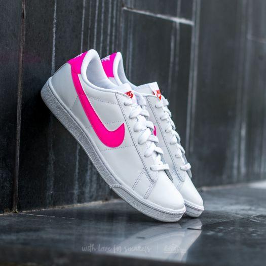 reputable site buy good superior quality Nike Wmns Tennis Classic White/ Pink Blast-Team Orange-Black ...