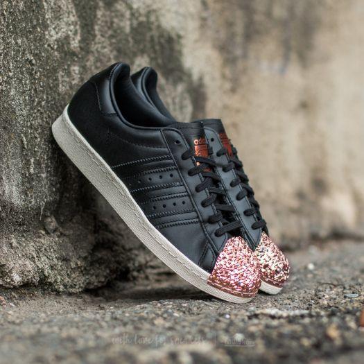 adidas Superstar 80s Metal Toe Damen Sneaker Low schwarz