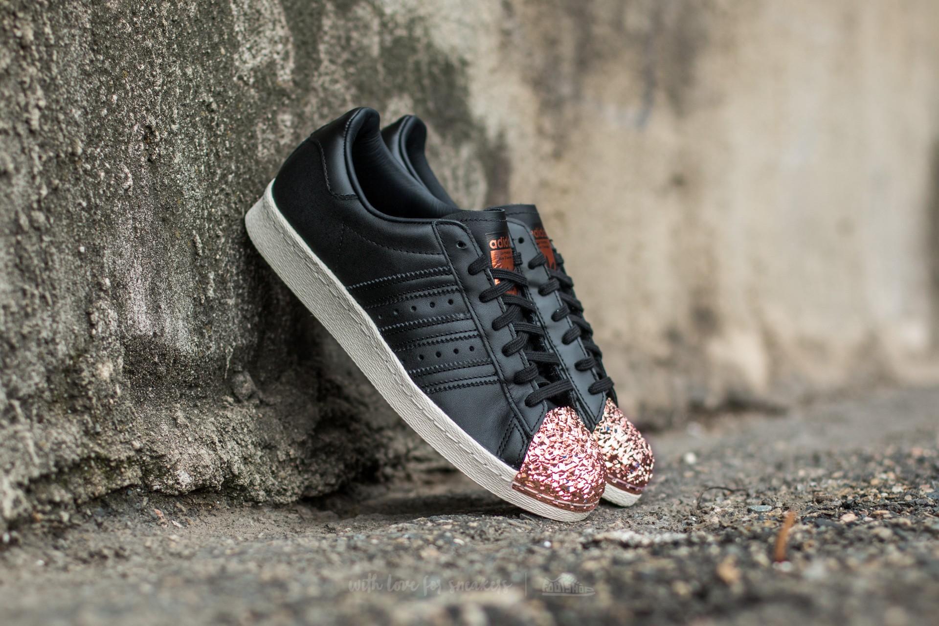 adidas Superstar 80s Metal Toe TF Core Black  Core Black  Copper Metal 28796cbc1f