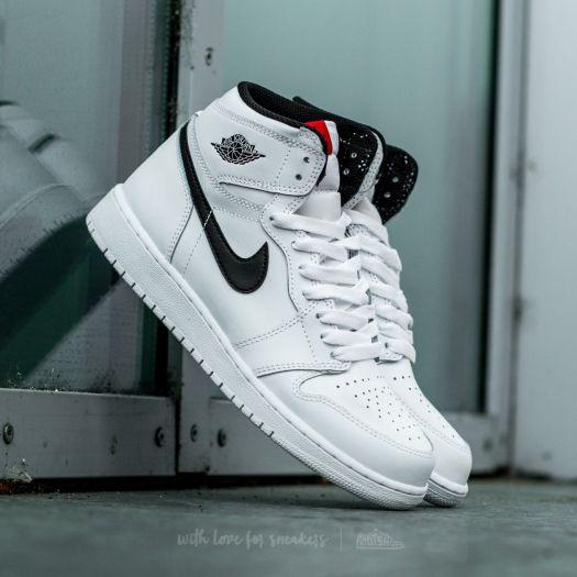 Air Jordan 1 Retro High OG White  Black-White  5c4570335768