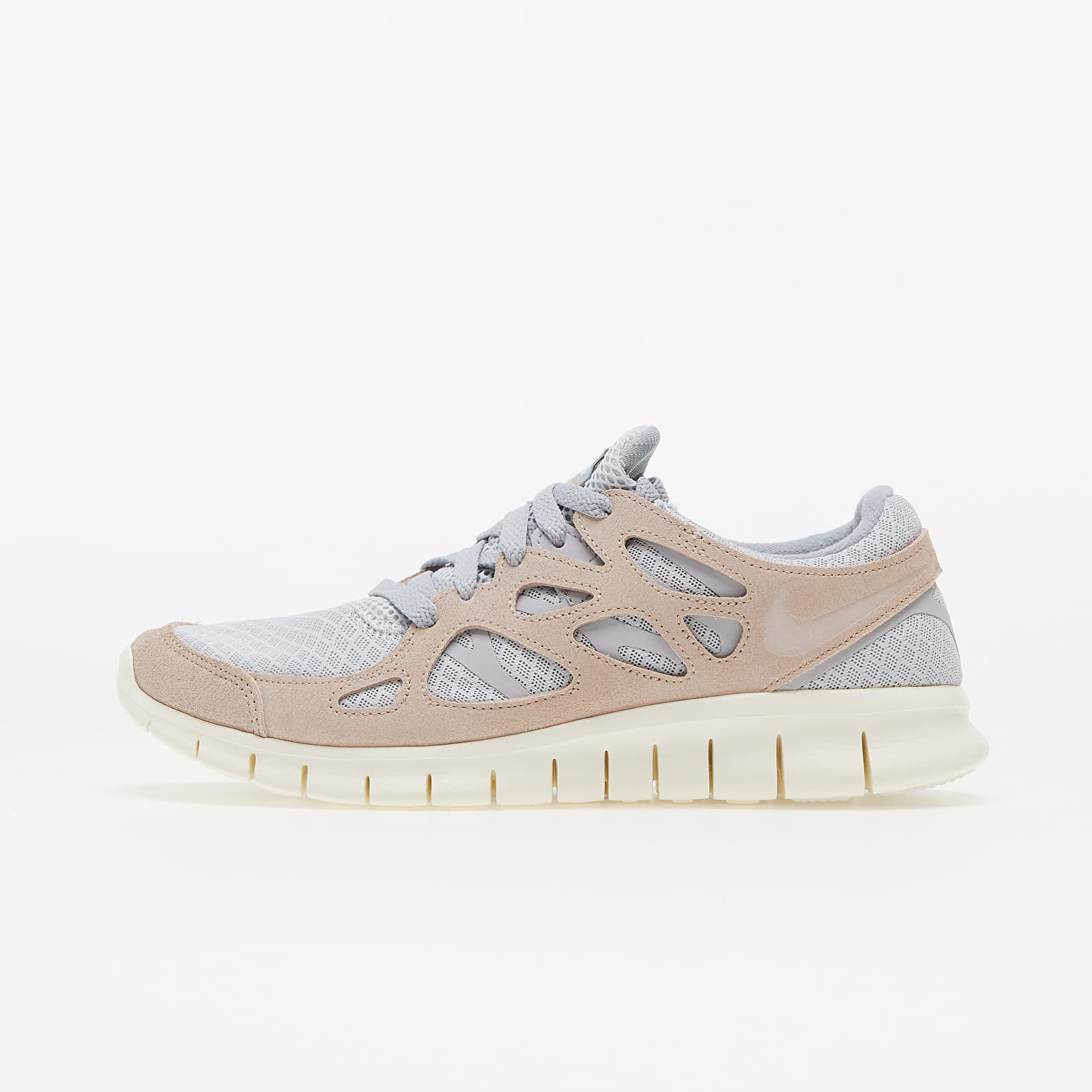 Nike Free Run 2 Pure Platinum/ Fossil Stone-Wolf Grey