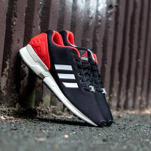 check out 74c4c cad04 adidas ZX Flux Core Black/ Ftw White/ Red | Footshop