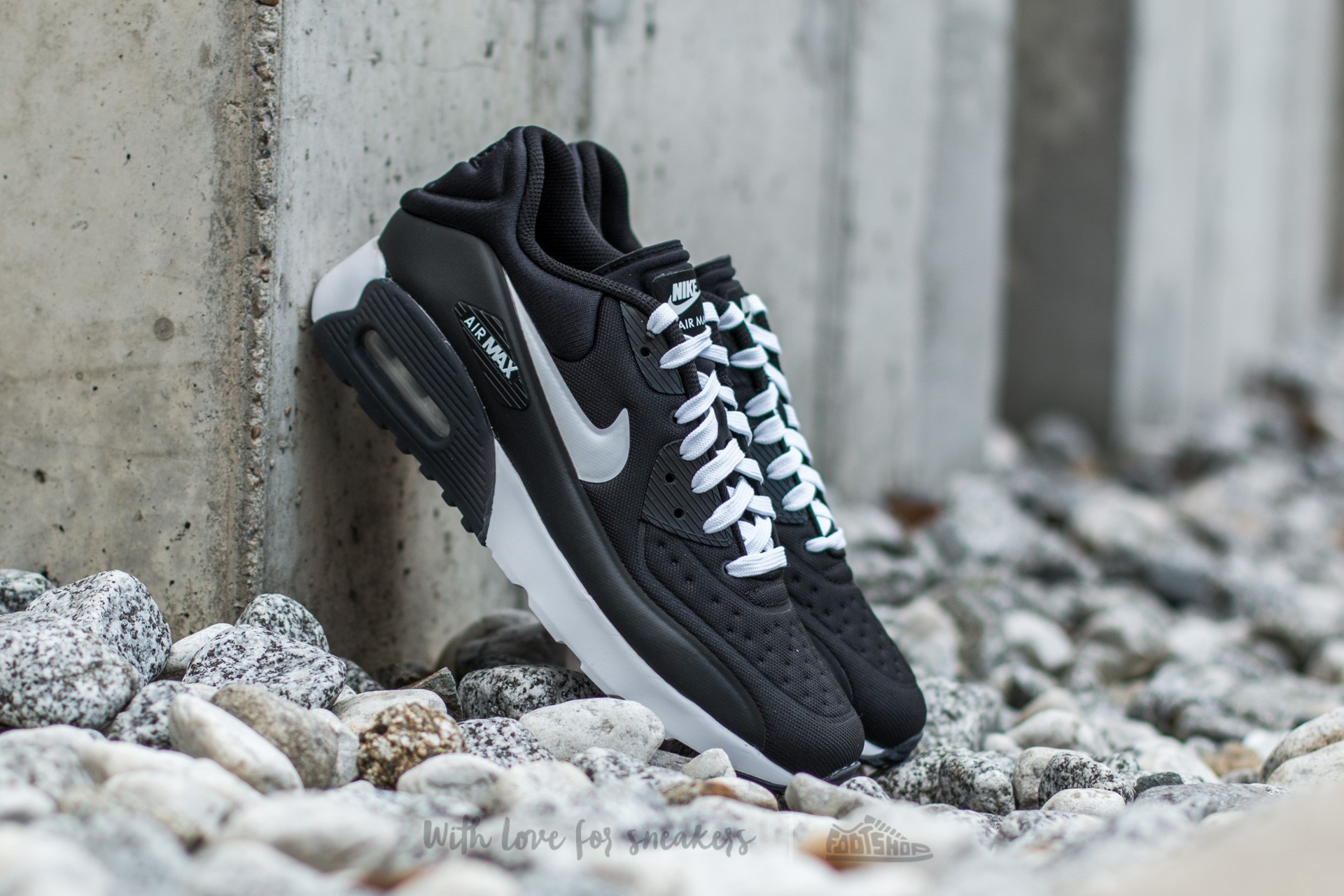d7ba50599d Nike Air Max 90 Ultra SE Black/ White-Anthracite-White | Footshop