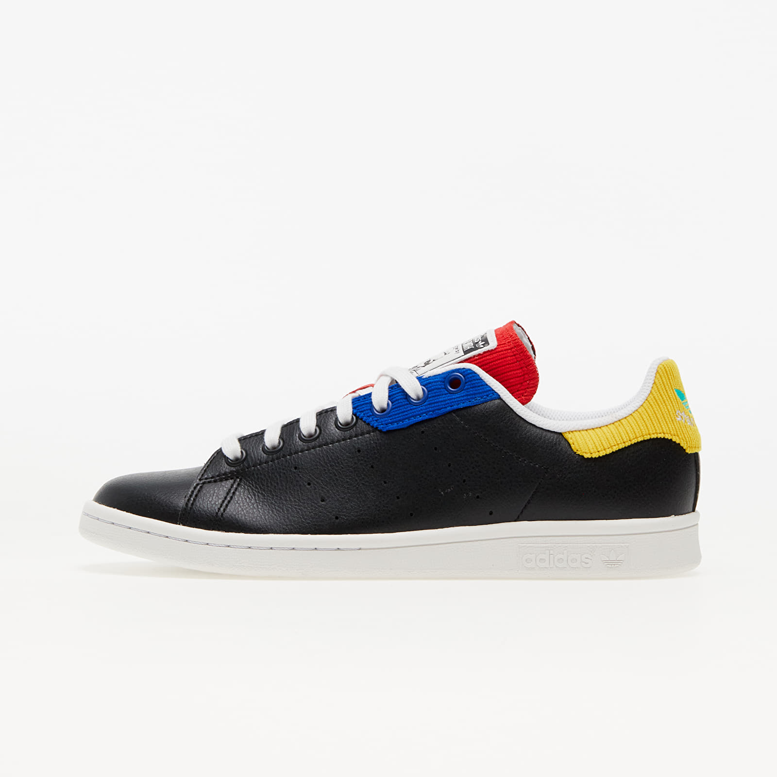 adidas Stan Smith Core Black/ Crystal White/ Royal Blue EUR 41 1/3