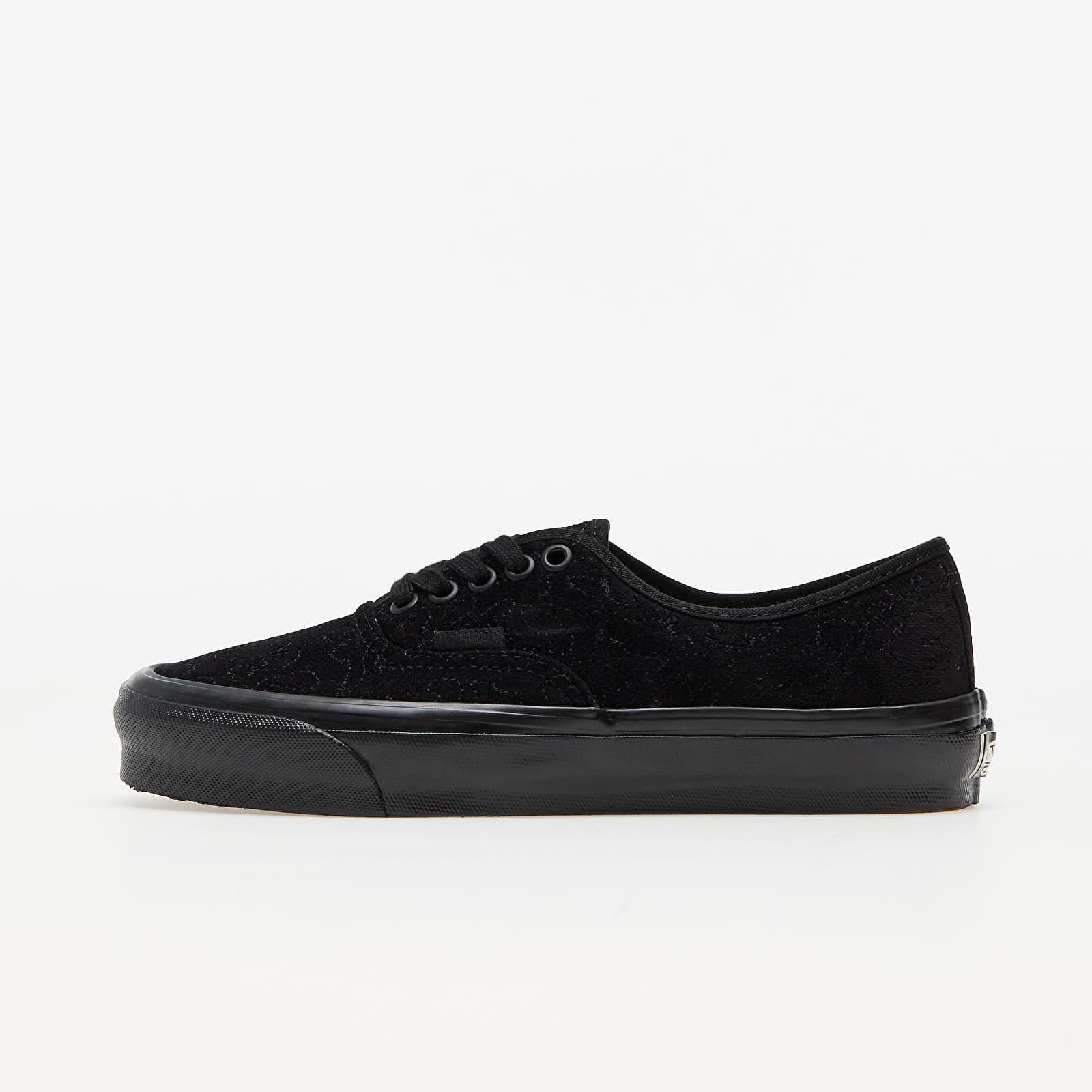 Vans Vault OG Authentic LX (Velvet Embroidery) Black/ Black