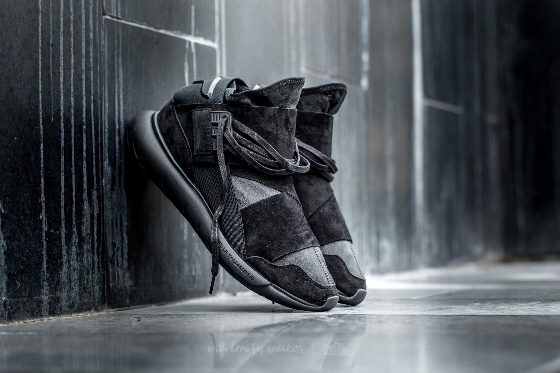 0df091df6260 adidas Y-3 Qasa High Carbon Black  Carbon Black  Carbon Black